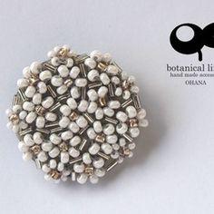 ohana brooch - bouquet gold