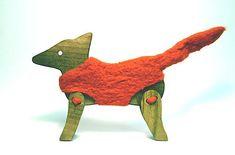 Líška v kožúšku. Dinosaur Stuffed Animal, Toys, Animals, Design, Activity Toys, Animales, Animaux, Clearance Toys, Animais