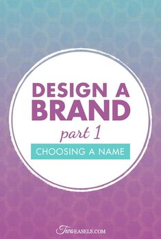 So, you want to start a business, you have a plan, you know what you will do, who your ideal client will be, and what makes your business unique. But none of that matters if you don't have a unique brand. Every business needs a name, a logo, a certain look that identifies the company visually. You need brand recognition.