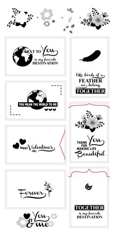 Love Notes Clear Stamps | Avery Elle