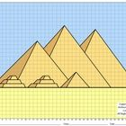 These coordinate graphing projects are fun for the student and make a great… Ancient Egypt Pictures, Ancient Egypt Lessons, 6th Grade Social Studies, Teaching Social Studies, Math Resources, Classroom Resources, Classroom Ideas, Egypt Tattoo, Middle School History