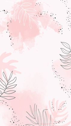 Download premium vector of Pink leafy watercolor mobile phone wallpaper vector by Aum about background minimal, watercolor mobile phone wallpaper, pink leafy watercolor mobile phone, abstract background design, and abstract background images 1222756