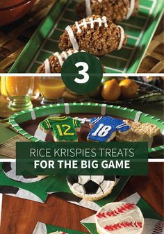 The big game is coming up and how better to prep for it with your kids
