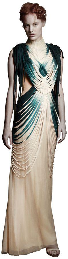 Spring-Summer Zulu dress by Felicity Brown. 3d Fashion, Girl Fashion, Womens Fashion, Fashion Design, Textiles, Felicity Brown, Afro, Apparel Design, Wearable Art