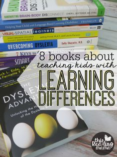 Teaching Kids with Learning Differences Book List (This Reading Mama) Teaching Phonics, Free Teaching Resources, Teaching Reading, Teaching Kids, Learning, Teacher Resources, Preschool Special Education, Struggling Readers, Reading Intervention