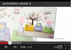 Hartelijkwelkom op mijn website:Sticker-itOp www.sticker-it.nl vind je een ruim assortimentaan stickers. Denk hierbij aan muur-/raamstickers,stickerklokken, autostickers, enz.Tevens ben ik er ook mee bezig om zelf stickers temaken, waardoor je zelf je ontwerp kunt aanleveren.Denk hierbij bijvoorbeeld aan een geboortesticker metnaam eronder.