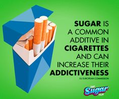 This sugar fact may just get you over the line at a trivia night. When sugar burns it releases a chemical that enhances nicotine addiction. Some cigarettes are up to 15% sugar.