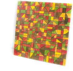 12 square artgeometric wall art minimalist by alnidecor on Etsy
