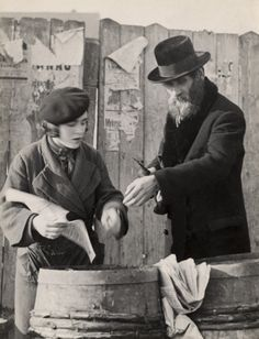 """Photographer Roman Vishniac--""""To a Vanished World"""" and """"To Give Them Light""""."""