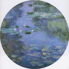 Acheter Tableau 'nénuphars (53)' de Claude Monet - Achat d'une reproduction sur toile peinte à la main , Reproduction peinture, copie de tableau, reproduction d'oeuvres d'art sur toile