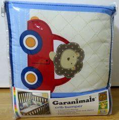 Garanimals Four Piece Boys On The Go collection Crib Bumper #Garanimals