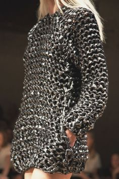 Loosely Knitted Pewter -  Isabel Marant