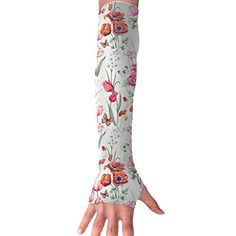 Mossey Raymond UV Protection Hand Cover Arm Sleeves Sports Driving Golf Cooling Cool Cover Sun - 1 Pair, Purple Flower - Pink Arm Sleeves, Types Of Fashion Styles, Purple Flowers, Rubber Rain Boots, Golf, Pairs, Sun, Cover, Sports