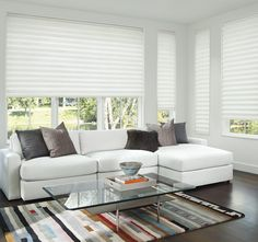 Modernize your home with energy-efficient Solera® Shades.Modern Love in your home.  We cannot get enough of it.  Are you ready for an update?
