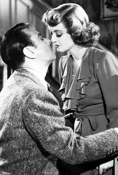 Bette Davis - George Brent - In This Our Life