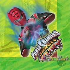 Power Rangers 'Jungle Fury' Lunch Napkins (16ct)