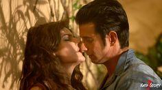 Bollywood Movie, Hate Story 3, Zarine Khan, Sharman Joshi, Couple, Kiss, Pasion, Love, Zarine Khan and Sharman Joshi in Hate Story 3