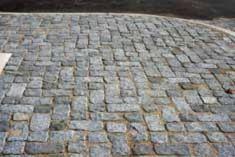 Image result for antique cobblestone patio