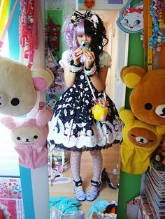 lolita japanese fashion | Lolita