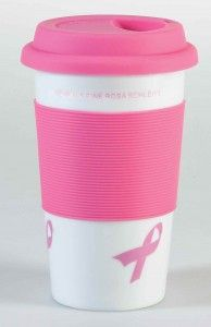 PINK RIBBON COFFEE-TO-GO BECHER
