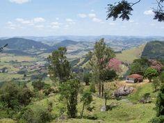 Senador José Bento - Vista da Serra de Ipuiuna (Foto: Sylvio Bazote) # Montanhas de Minas Gerais