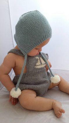Baby bonnet baby hat baby winter hat newborn by Bobblehandmade