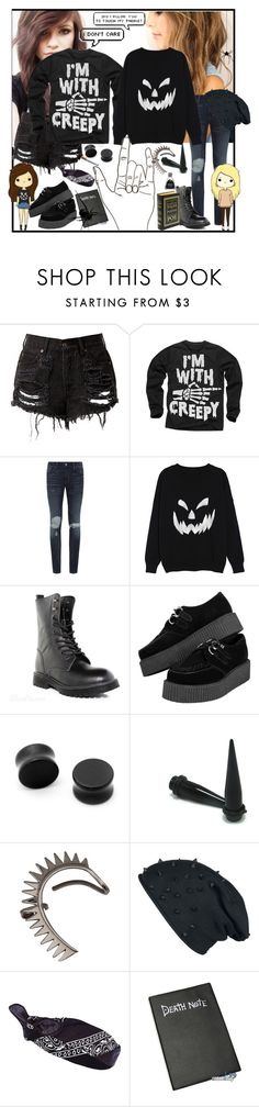 """(/;-;)/"" by vivieizanangel ❤ liked on Polyvore featuring Denim & Supply by Ralph Lauren, Annelise Michelson and River Island"