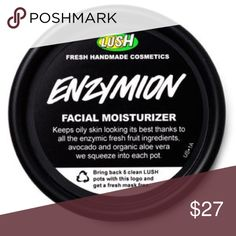 LUSH ENZYMION MOISTURIZER got as gift recently never used!! great deal Lush Makeup