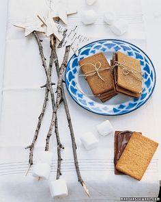 Love Marshmallow Roasting sticks..Smores bar