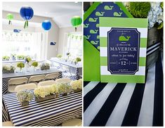 Nautical Whale Theme Party Ideas