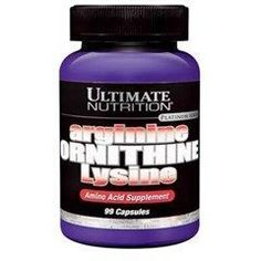 ULTIMATE Arginine Ornithine Lysine 99 kapsül