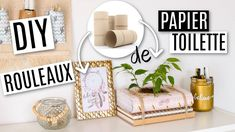 DIY 0€ AVEC DES ROULEAUX DE PAPIER TOILETTE ! Diy Cadeau Noel, Papier Diy, Boho Room, Boho Diy, Diy Christmas Gifts, Decoration, Craft, Place Cards, Room Decor