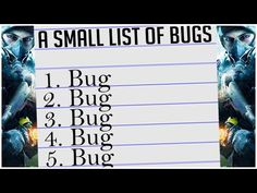 MOST IRRITATING BUGS in The Division Welcome back to The Division In this video we're going through some of the bugs, a very small list of what I've ac. Tom Clancy The Division, Xbox One Pc, Gaming Merch, Bugs, Thoughts, Youtube, Beetles, Youtubers, Youtube Movies