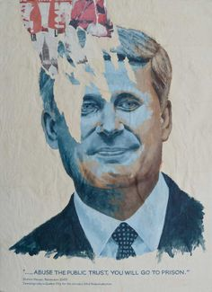 Portrait of Stephen Harper by Norman Takeuchi
