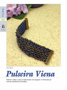 BIJOUX MAGAZINE: How To: Bracelet Vienna