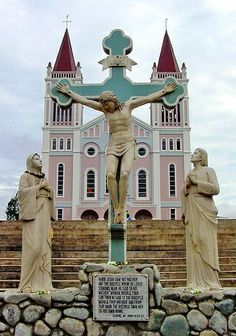 Baguio Cathedral Giving you all the tips and information you need before you go. - Travel Philippines Now Old Churches, Catholic Churches, Philippines Travel, Baguio Philippines, Native Place, Houses Of The Holy, Baguio City, Mysterious Places, Cathedral Church
