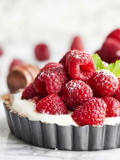 Healthy Fruit Tarts Recipe via @showmetheyummy