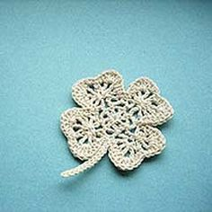 Lucky clover applique