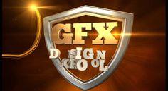 GFX SCHOOL AND STUDIO OF DESIGN ONLINE CINEMATIC LOGO CONCEPT