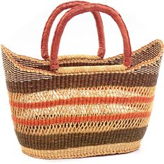 Weavers in the region use the abundant Veta vera Elephant grass to weave these incredibly hardy, useful baskets.  www.basketsfromafrica.com