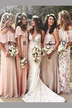 865132f39a1 Customized Fetching Chiffon Bridesmaid Dress