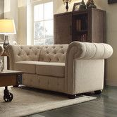 Found it at Wayfair - Carthusia Button Tufted Loveseat