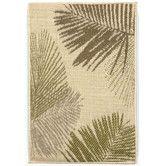 Found it at Wayfair - Terrace Green Palms Indoor/Outdoor Area Rug