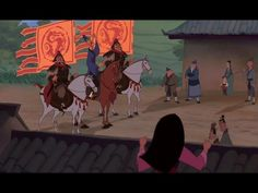 When the emperor gets the call that the Huns are making their way across China his immediate response is to send out a call to new recruits for the Chinese army. Mulan's father gets is forced to serve in war again by the herald and member of the imperial council, Chi Fu, as he has no sons to fulfill the call. Mulan knows her father is too old and worn-down to fight again, and makes the decision to go in his place, disguised as a man.