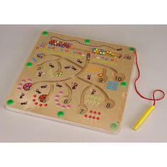 Magnetspiel Ameisen Im Ameisenbau zählen und sortieren lernen 120214