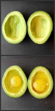 How to Bake Eggs in an Avocado!