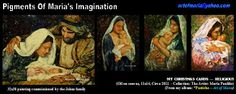 Some of my oil paintings of religious nature. These were all commissioned paintings.