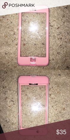 iPhone 6s Plus baby pink life proof case Used for about a week in like-new condition LifeProof Other