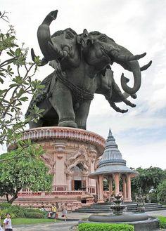 Erawan Museum in Bangkok , Thailand