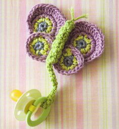 HANDY Baby Pacifier Holders/Clips/Crochet Pattern INSTRUCTIONS ONLY | eBay